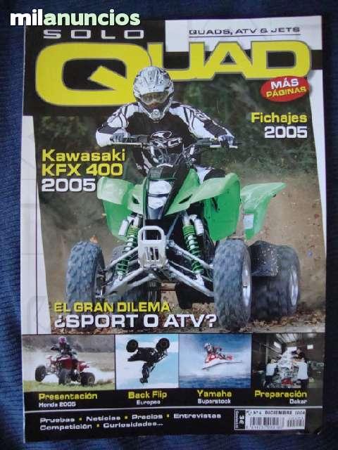 LOTE 3 REVISTAS SOLO QUAD-CAMBIO X JUEGO - foto 4