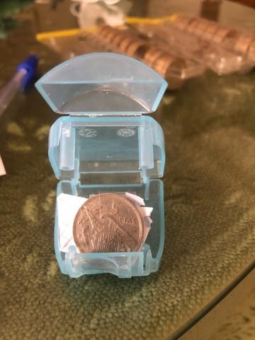Moneda De 5 Pts Del Rey Del 1957/68