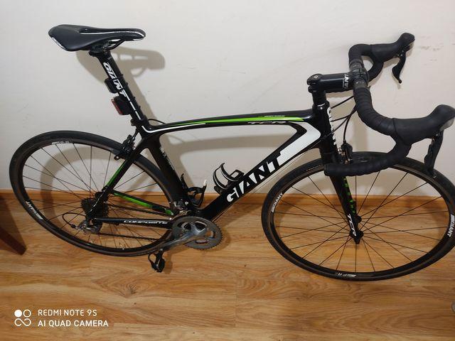Bicicleta Carretera Giant Tcr Carbono