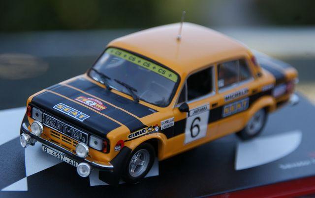Seat 124 Fl 1800 Rallye Race 1977 Salvad