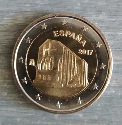 Moneda Conmemorativa 2 Euros España 2017