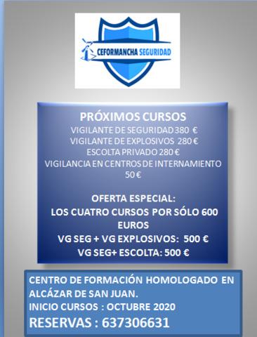 CURSO VIGI. SEGURIDAD/ESCOLTA/EXPLOSIVOS/ - foto 1
