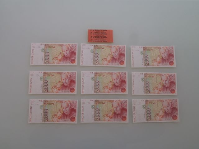 Billetes De 2000 Pesetas