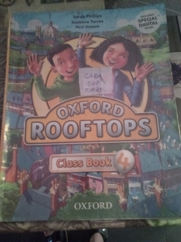 OXFORD ROOFTOPS CLASS BOOK 4°PRIMARIA - foto 1