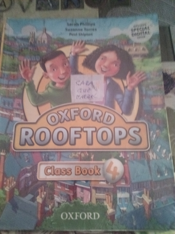 OXFORD ROOFTOPS CLASS BOOK 4°PRIMARIA - foto 3