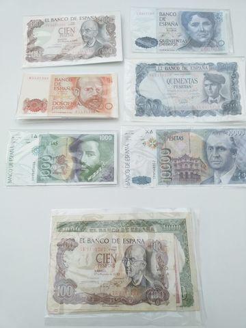 Colección De Billetes De Pesetas