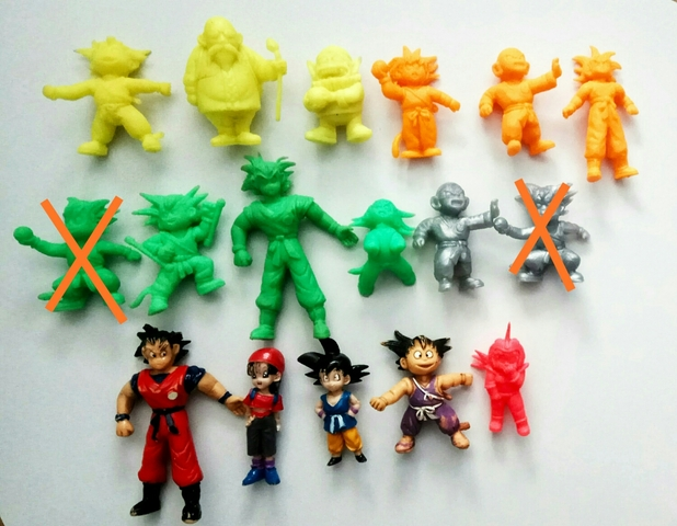 Matugomas Dragon Ball Figuras