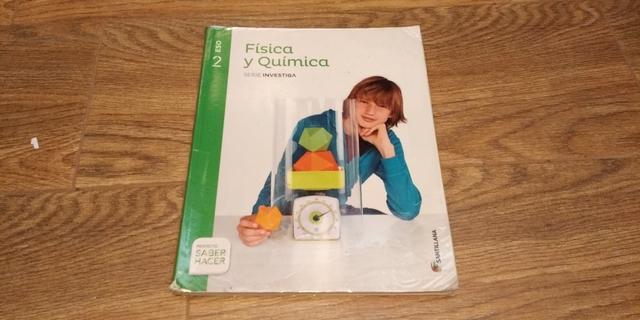 LIBRO FISICA Y QUIMICA 2ESO - foto 1