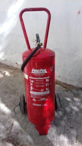 Extintor 25Kg Polvo Abc