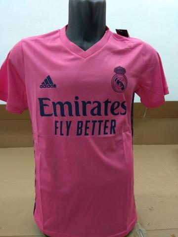 Camiseta Real Madrid Rosa 2020/2021