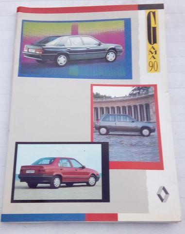 CARPETA CLASSIFICADORA RENAULT AÑOS80/90 - foto 1