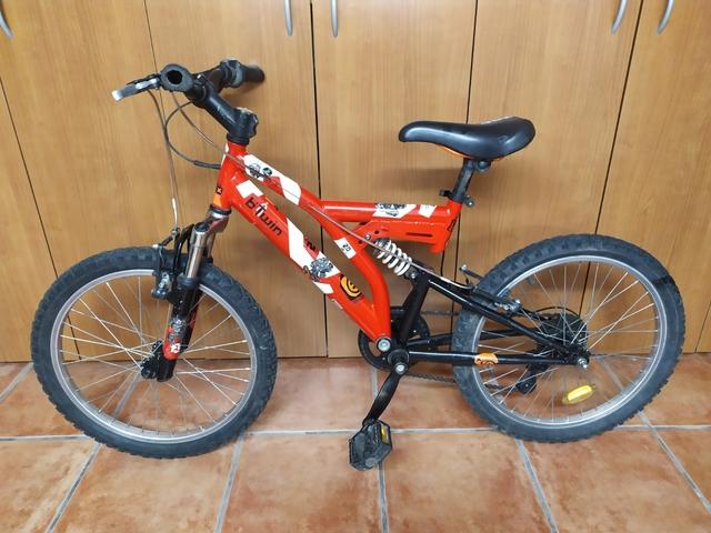 Bicicleta Montaña Doble Suspension