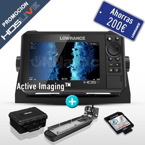 HDS-7 LIVE + ACTIVE IMAGING 3 IN 1 POPA - foto 1