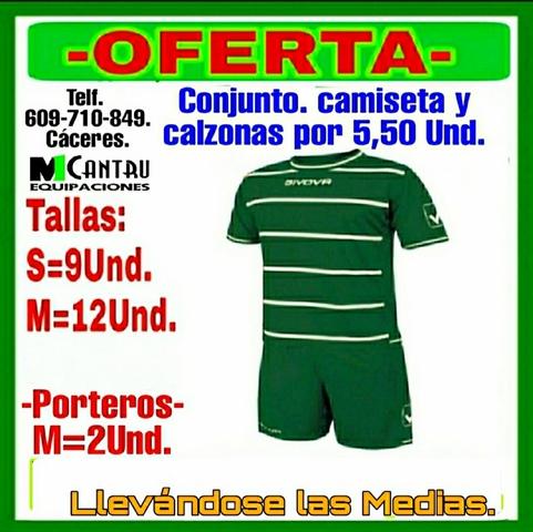 Equipación De Fútbol Verde