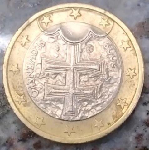 Moneda De 1 Euro De Eslovaquia