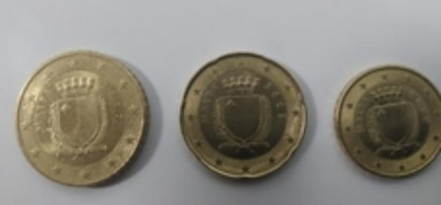 Monedas De  Céntimos De Malta 50,20,10