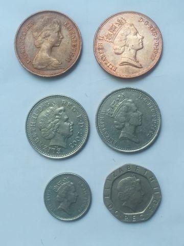 Lote Monedas Inglaterra