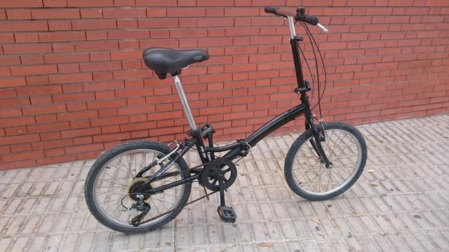 Bicicleta Plegable Paseo Ciudad