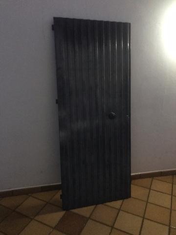 Puerta De Hierro Galvanizado