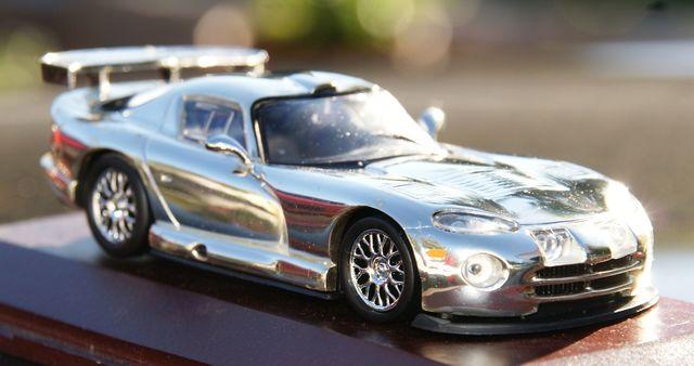 Chrysler Viper Srt 10 Bañado En Plata Es