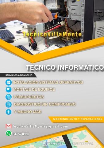 TÉCNICO DE AVERÍAS - foto 1