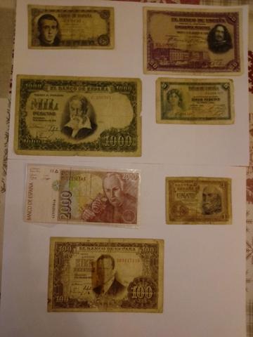 Colección Billetes