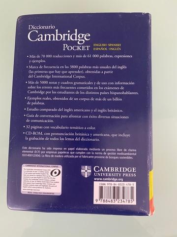 DICCIONARIO CAMBRIDGE POCKET - foto 3