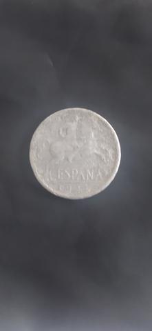 Monedas Raras De Pesetas 1944