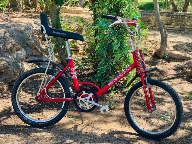 Bicicleta Motoretta
