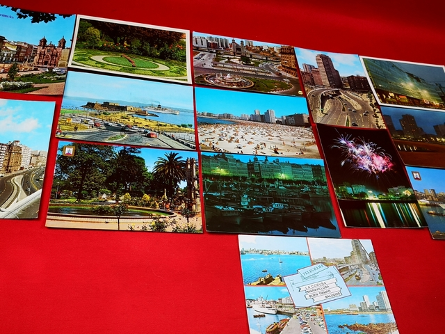 LOTE 25 TARJETAS POSTALES CORUÑA 70/80 - foto 4