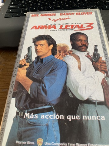 Vhs Cinta Video Arma Letal 3