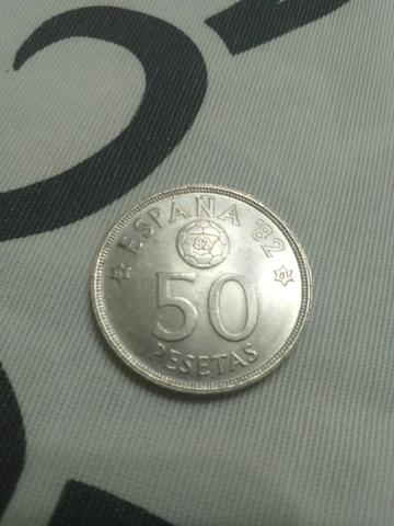 Moneda De  50 Pesetas