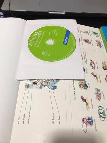 SCHRITTE INTERNATIONAL NEU 1 A1. 2+CD - foto 2