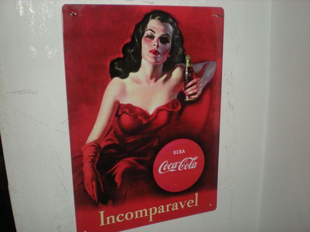 Carteles Laton Coca Cola