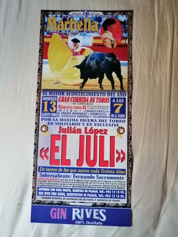 Cartel De Toros