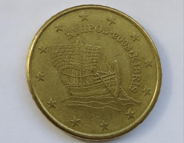 Moneda 50 Centimos Euro Chipre Belgica