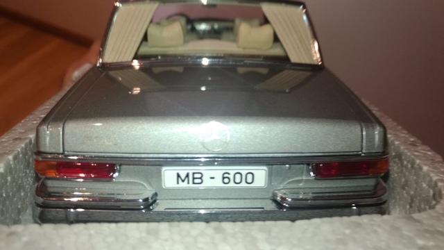 Mercedes Benz 600 Swb 76191 Autoart
