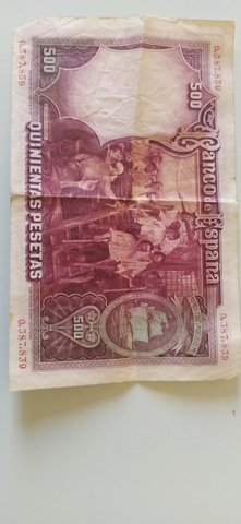 Vendo Billete De 500 Pesetas