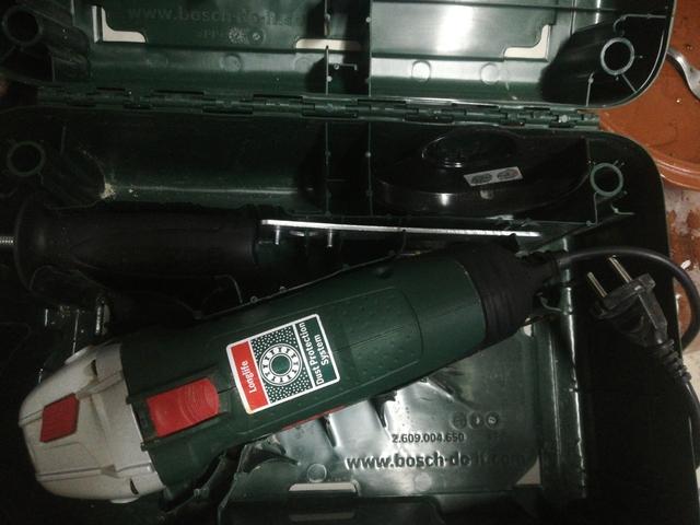 Radial Amoladora Bosch
