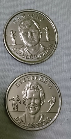 Monedas Selección Española Año 2000