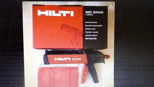 Pistola Bicomponente Hilti