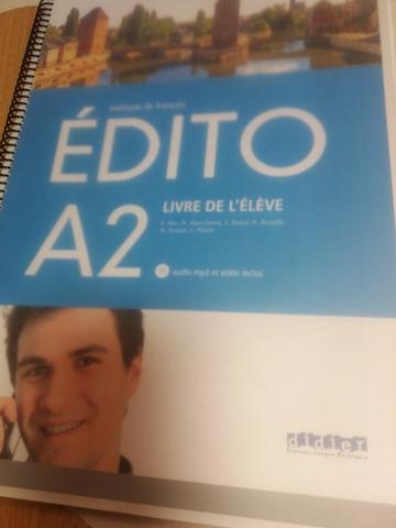 ÉDITO A2 LIVRE DE L\'ÉLÉVE - foto 1