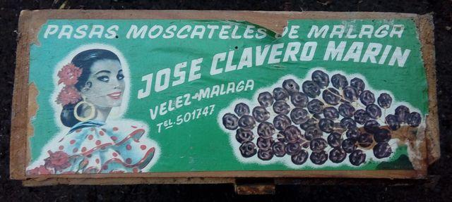 Caja De Madera Jose Clavero Marin
