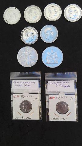 Preciosas Monedas De Plata Variadas