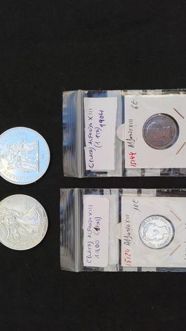 Maravillosas Monedas De Plata