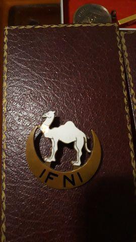 Distintivo Pecho De Ifni 1958