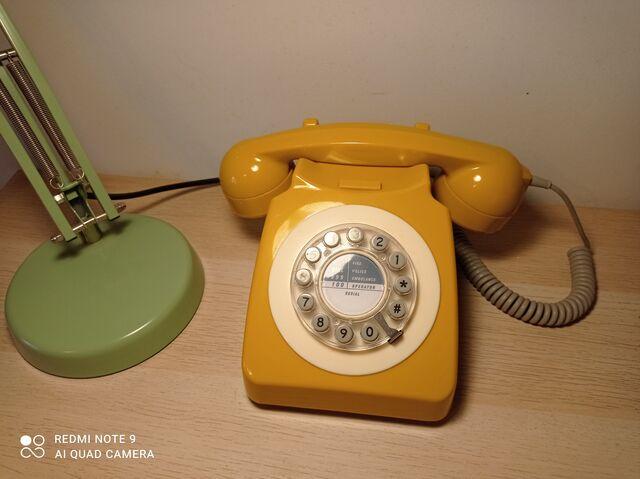 TELEFONO FIJO VINTAGE - foto 1