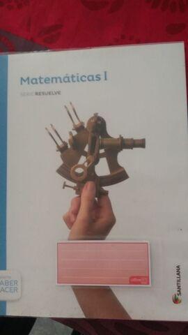 LIBRO 1 BACHILLERATO MATEMÁTICAS - foto 1