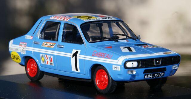 Renault 12 Gordini Coupe 1973 Nº1 Escala