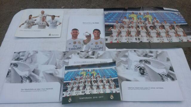 Documentos Triptico Real Madrid